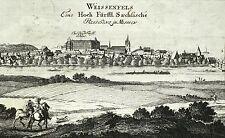 WEISSENFELS / WEIßENFELS - Gesamtansicht - Bodenehr - Kupferstich 1710-1720