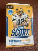 2018 Score Football Factory Sealed 60 Card HANGER Box! Loaded LAMAR ? SAQUON RC?