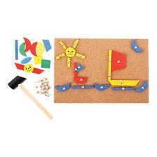 Bigjigs Toys Pin-a-Shape - Tap Tap Art