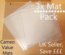 Silhouette Cameo Value cutting mat x3 Pack! Why spend ££ on mats?? Carrier sheet