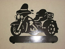CUSTM HARLEY STYLE AMERICAN TRIKE MOTORCYCLE METAL ART MAILBOX TOPPER (NO NAME)