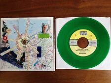 """BRIGHT EYES Conor Oberst OOP Grateful Day 7"""" CLEAR GREEN NM VINYL SUB POP SB528"""