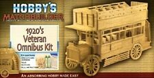 1920s Veteran Omnibus Matchstick Model Kit Hobby's Matchbuilder - NEW