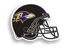 """Baltimore Ravens 8"""" HELMET Team Magnet NFL Football"""