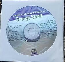 GEORGE STRAIT KARAOKE CDG COUNTRY KARAOKE CLASSICS CKC44 - FIREMAN,BLUE CLEAR