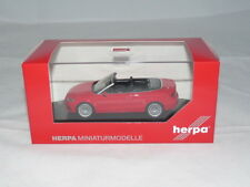 herpa 070805 Audi A3 Cabrio - brillantrot 1:43 NEU + OVP