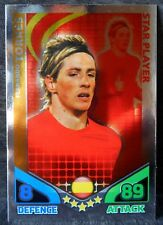 Fernando Torres Spain Star Player football trading card Topps 2010 World Cup