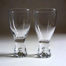 IITTALA Finland Tapio Wirkkala 'TAPIO' White WINE GLASSES x 2. Vintage 18cl