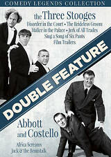 Abbott & Costello  The Three Stooges DVD