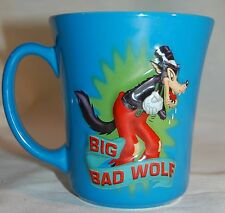 "WALT DISNEY STORE "" BIG BAD WOLF "" COFFEE MUG / CUP"