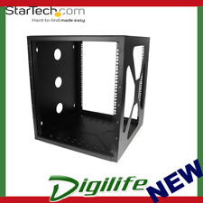 STARTECH 12U 19in Wall Mount Side Mount Open Frame Rack Cabinet RK1219SIDEM