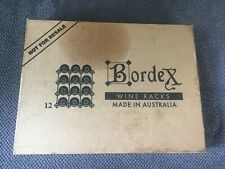 BORDEX Real Hardwood 12 bottle  Wine Rack Bar Display Kit