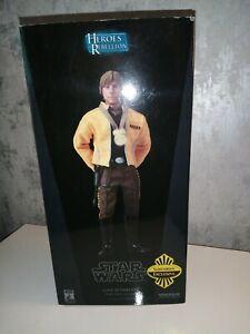 Star Wars Sideshow Collectibles Luke Skywalker Exclusive Rebel Hero 2007 New