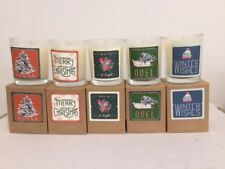 Illume boxed votive Holiday candles set of 5 - 2.3 oz each