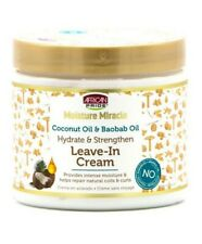 Moisture Miracle Coconut Oil And Boabab Oil Leave In Cream 425 g