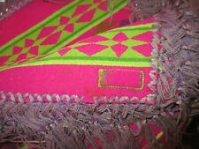 "New listing Antique Vintage ""Pendleton"" Southwest Cayuse Wool Shaw Blanket With Fringes"