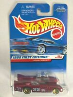 Hot Wheels Mattel 1998 First Editions Double Vision Collector #684 40/40 Red