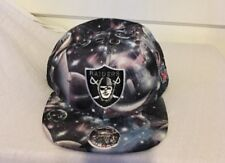 Oakland Raiders Snapback Hat Mitchell Ness Space Vintage Collection 100% Wool