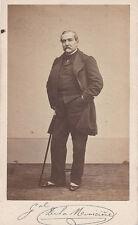 Photo cdv : Desmaisons ; Général de la Moricière en civil , vers 1865