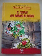 LIBRO GERONIMO STILTON - IL TEMPIO DEL RUBINO DI FUOCO