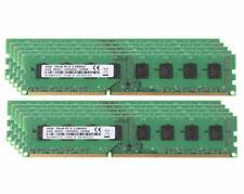 New listing Lot 10Pcs 4Gb Cpu Pc3-12800 2Rx8 Ddr3 1600Mhz 240Pin Desktop Memory Dimm Ram @Ry