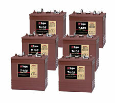 6x Trojan T105 Batteries de machine à étage