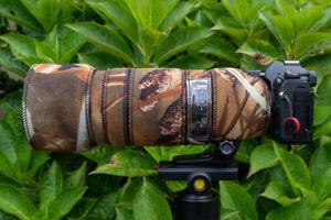 Olympus 100 400 Neoprene lens protection Premium range fabrics