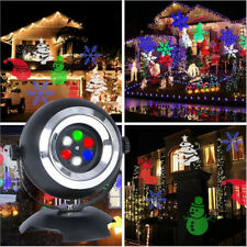LED Laser Light Projection Landscape Lamp Christmas Decor Garden Party Outdoor