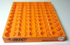 5 Empty Display Tray Maxi BIC Store Counter Lighter Orange Large Base Slot J26