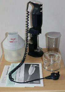 Bamix M160 2 Speed De Lux Hand Blender with original Accessories plus SliceSy