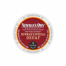 Newman's Own Organics Special Decaf Coffee Keurig K-Cups 96-Count