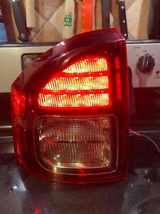14-17 Jeep Compass Driver Tail Light - OEM ✅ LED ✅ taillight lamp lens 1069