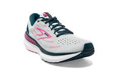 Brooks Glycerin 19 GTS Women's Running Shoes White Run Sport Sneaker 1203441B110