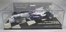 BMW F1.06 #17 Robert Kubica 2006 HUNGARY GP DEBUT signed box MINICHAMPS 1:43