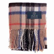 Nouveau long cou Fashion Thomson Camel Tartan Scarf-écossais laine Clan  écharpes ecdf5a4254a