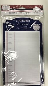 Magnetic Fridge Notepad 52 Lines Shopping list Kitchen Home Planner