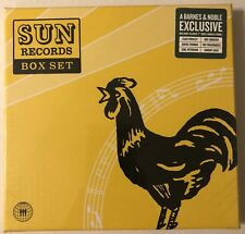 "SUN RECORDS BOX SET CLASSIC 7"" VINYL SINGLES FROM ELVIS PRESLEY JOHNNY CASH MORE"