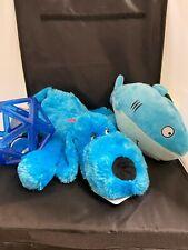 Blue Dog Toys for a Medium Size dog - Lot of 3 toys