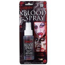 Fake Blood Spray 59.1ml Vampire Dracula Special Effects Horror Make up Liquid