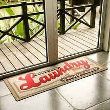 Ustide Floor Rug For Laundry Room Nonslip Rubber Backer Mat Runner Durable Cheap