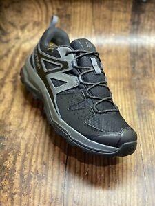 ~SALOMON~'X RADIANT GTX' 404827 Magnet Black Gore-Tex Hiking Shoes Uk9 ~Superb~