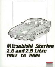 Mitsubishi Starion Petrol 1982-1989 New Workshop Manual Service Repair