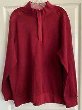 GREG NORMAN >NEW< Men's Pullover Golf Sweater Maroon SA1000 (size L)