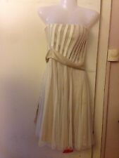 Ladies Size 14 TEATRO Cocktail Prom Party Dress Holidays Festival Free Post B3