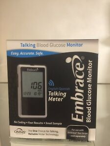 Embrace Blood Glucose Meter System, FREE SHIPPING.