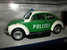 1:18 solido VW Maggiolino polizia n. s1800504 IN SCATOLA ORIGINALE