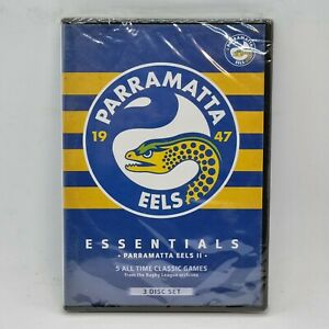PARRAMATTA EELS Essentials II DVD NEW Sealed 3-Disc Set 2015 NRL Free 📮