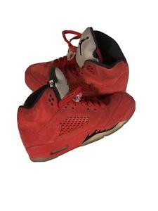 Jordan 5 Retro Gs Red Suede 6.5