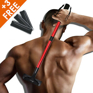 Back Hair Removal Back Groomer for Men, Body Shaver with Long Handle 21.5