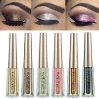 Glitter Liquid Eyeshadow Wasserdichter Langlebiger Shimmer Eyeliner Cosmeti S5Z3